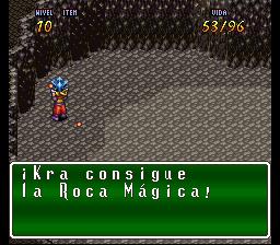 VaJ a... ¡Terranigma! - Capitulo III Kra se aberroncha contra el rocaje vivo Terra483