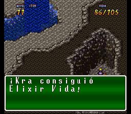 VaJ a... ¡Terranigma! - Capitulo III Kra se aberroncha contra el rocaje vivo Terra503