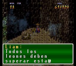 VaJ a... ¡Terranigma! - Capitulo V Leoncito leoncito, de leones de leones, leoncito, soy un leon Terra739