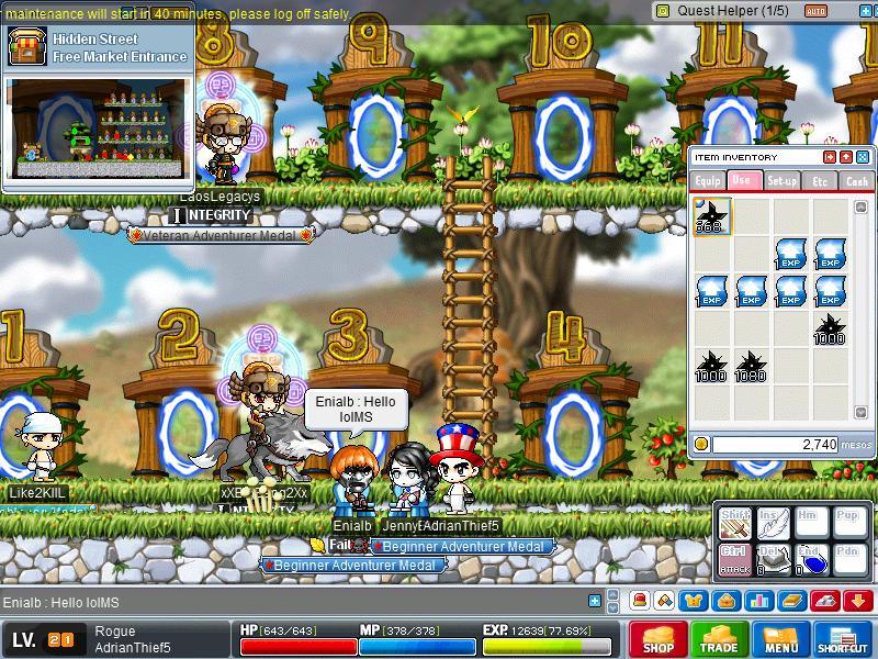 Screenshot of EniaIb the Famous GMS Paladin Eniaib11