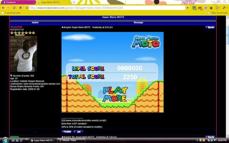 Super Mario MOTO Mario310