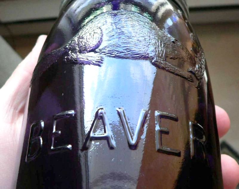 3 bouteille beaver  B-bjoe10