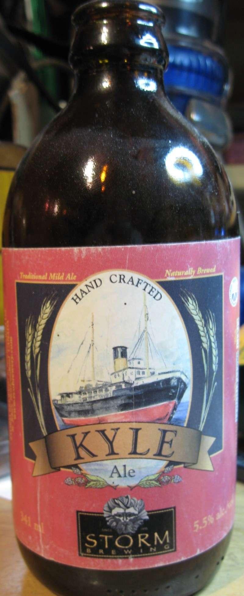 BOUTEILLE DE BIERRE KYLE , GENTLE BEN , RED CAP ET CHAMPLAIN  Beer_b10