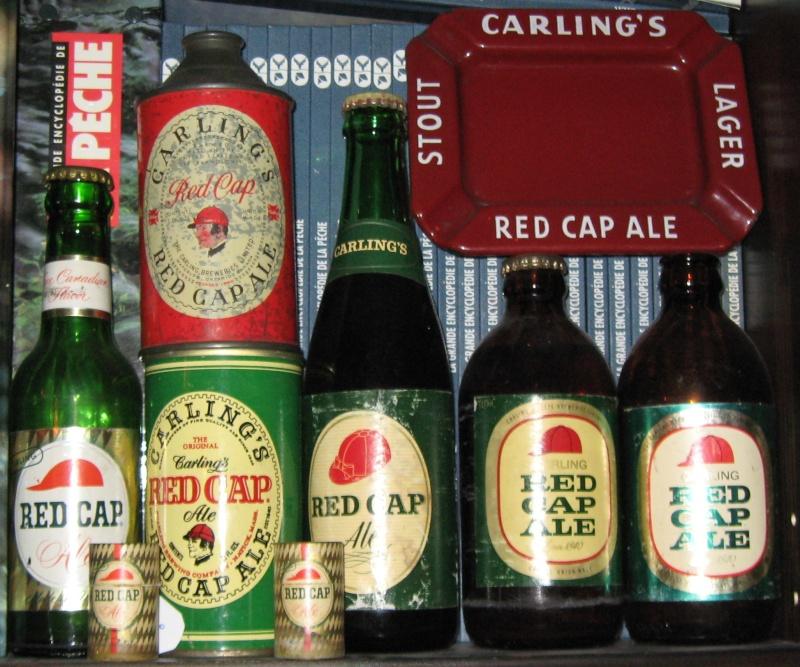 BOUTEILLE DE BIERRE KYLE , GENTLE BEN , RED CAP ET CHAMPLAIN  Beer_b12