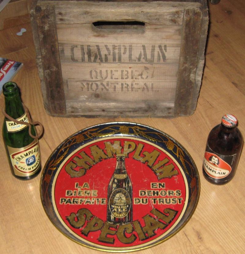 BOUTEILLE DE BIERRE KYLE , GENTLE BEN , RED CAP ET CHAMPLAIN  Beer_b14