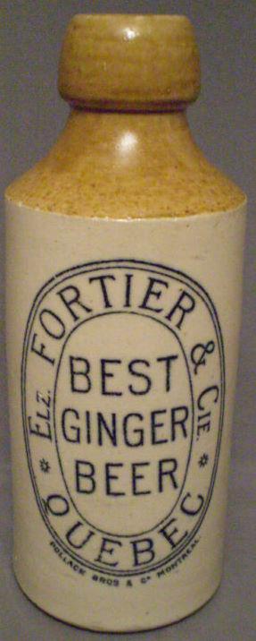 fortier ginger beer  screw  top  Fortie12