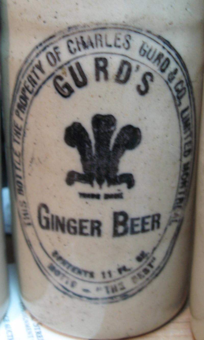 mes gurd`s ginger beer  8 bouteille  Gurd_015