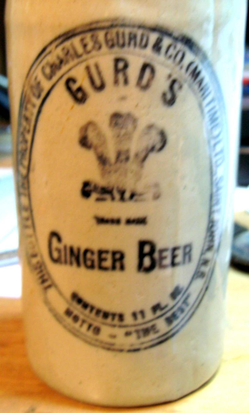 mes gurd`s ginger beer  8 bouteille  Gurd_019
