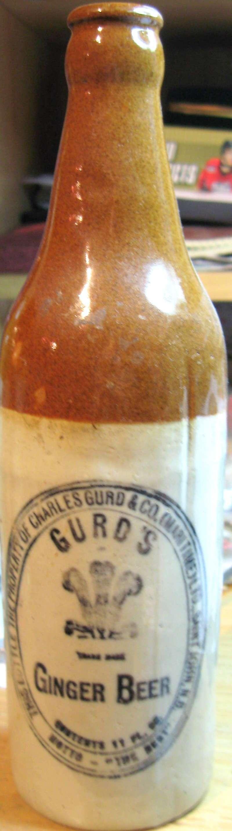 mes gurd`s ginger beer  8 bouteille  Gurd_020