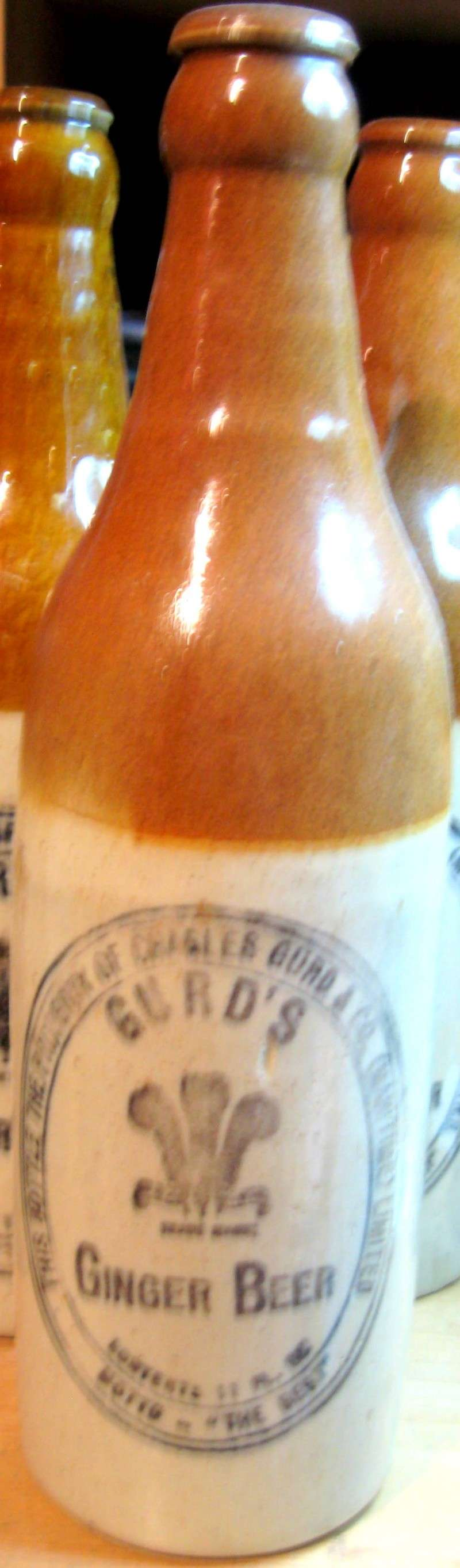 mes gurd`s ginger beer  8 bouteille  Gurd_022