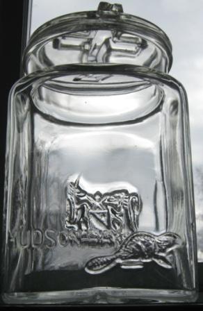 hudson bay beaver jar  Img_9411