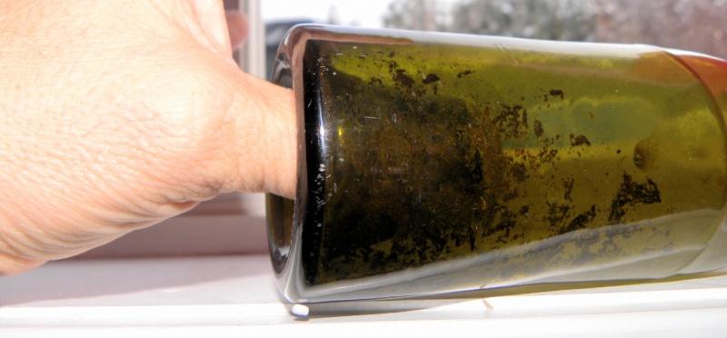Une bouteille verte bimal a fond creux 9 oz  Inconn13