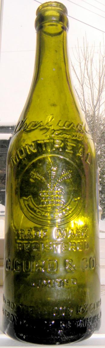2 bouteilles gurd's N_02310