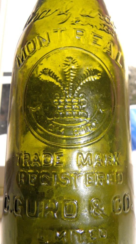 2 bouteilles gurd's N_02610