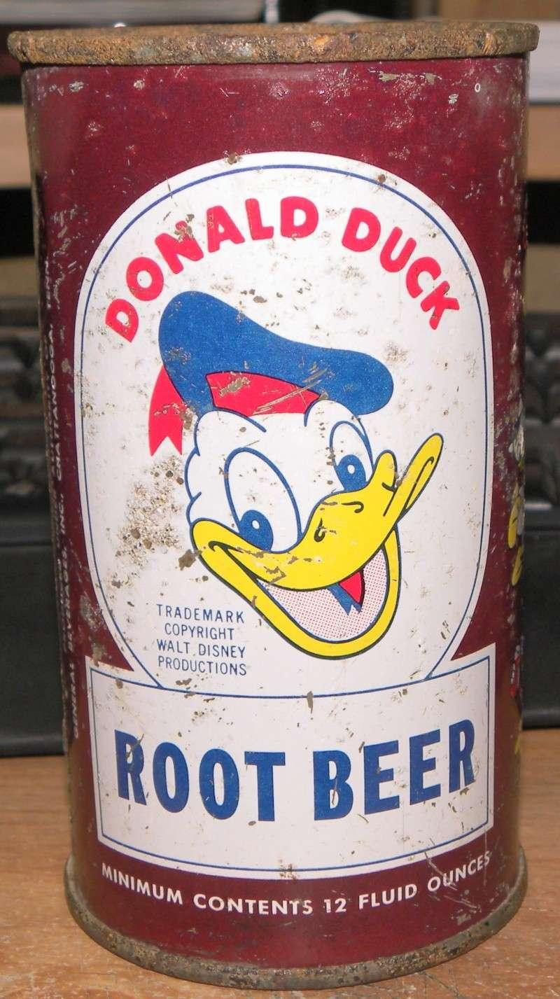 Donald Duck Cola embouteillé et vendu au Québec en 1953 Photo_39