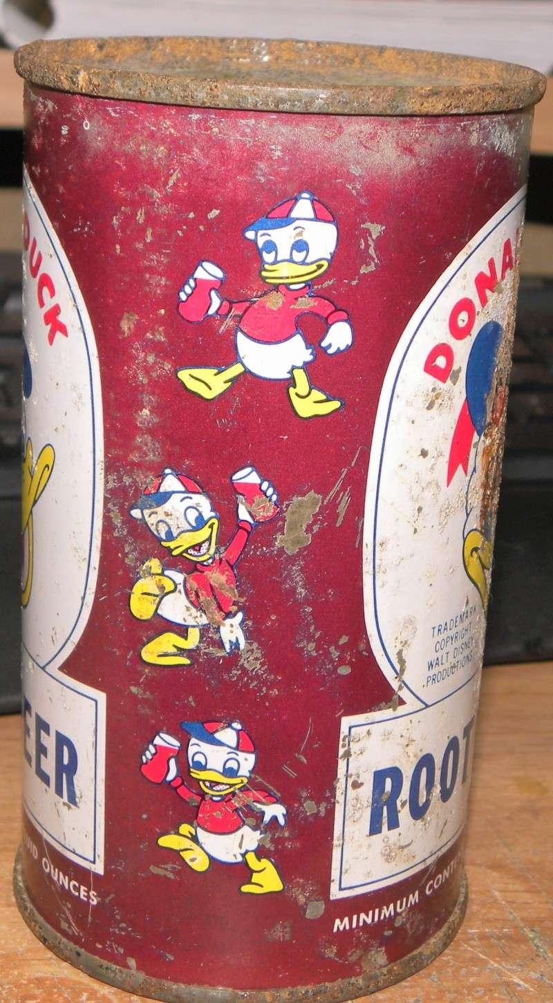 Donald Duck Cola embouteillé et vendu au Québec en 1953 Photo_40
