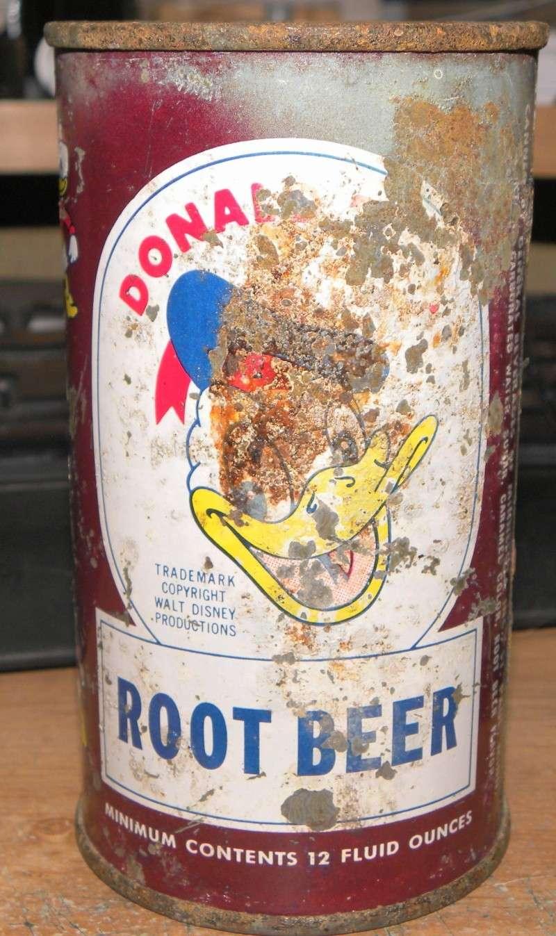 Donald Duck Cola embouteillé et vendu au Québec en 1953 Photo_41