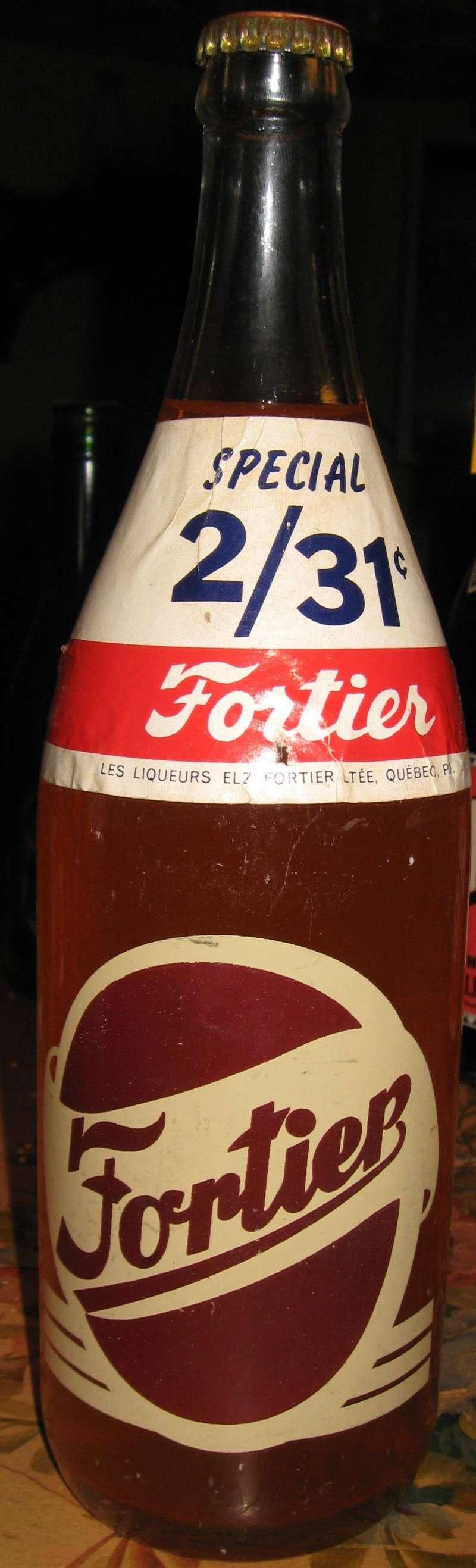 une bouteille fortier  avec etiquette 2 pour 31¢  Photo_86