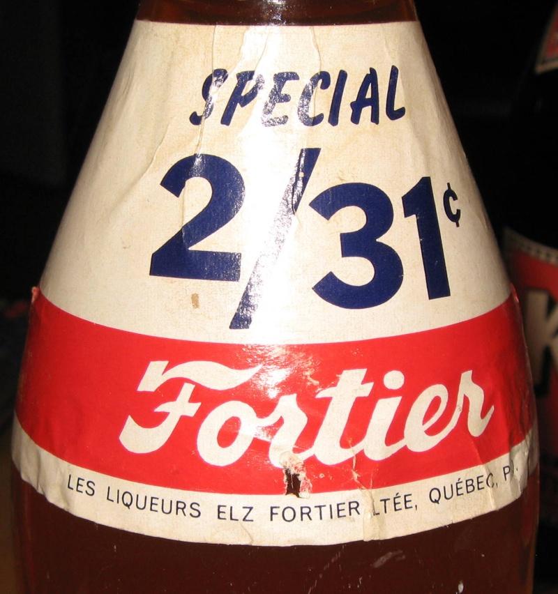 une bouteille fortier  avec etiquette 2 pour 31¢  Photo_87
