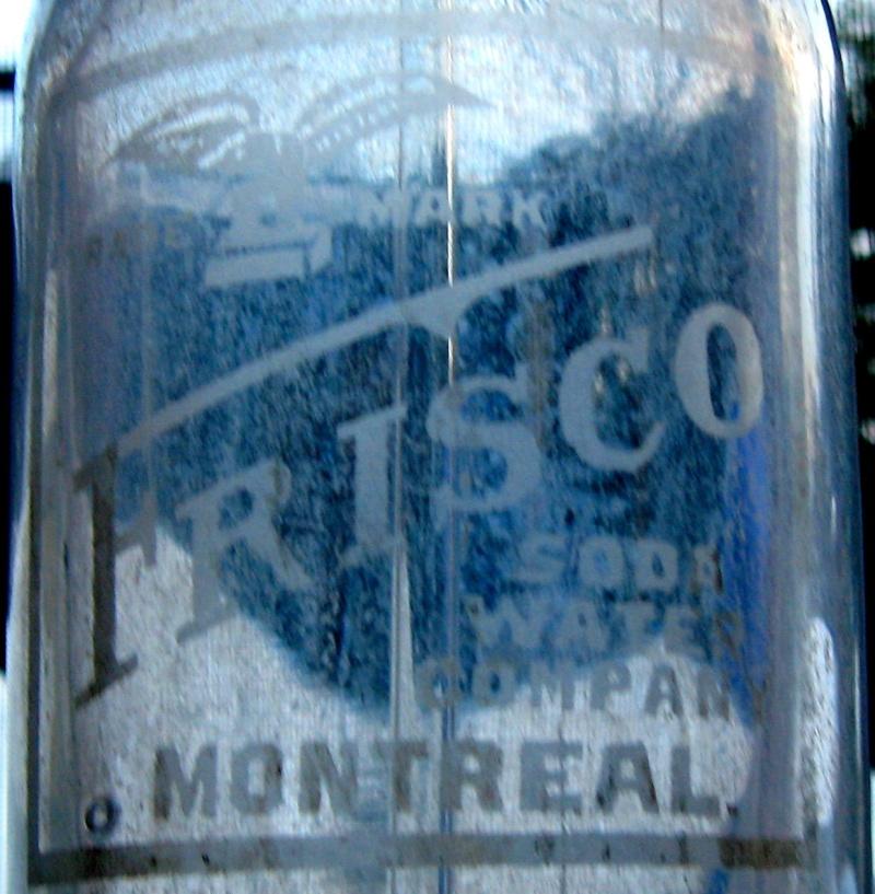 Frisco soda water  ginger beer et syphon  Syphon11