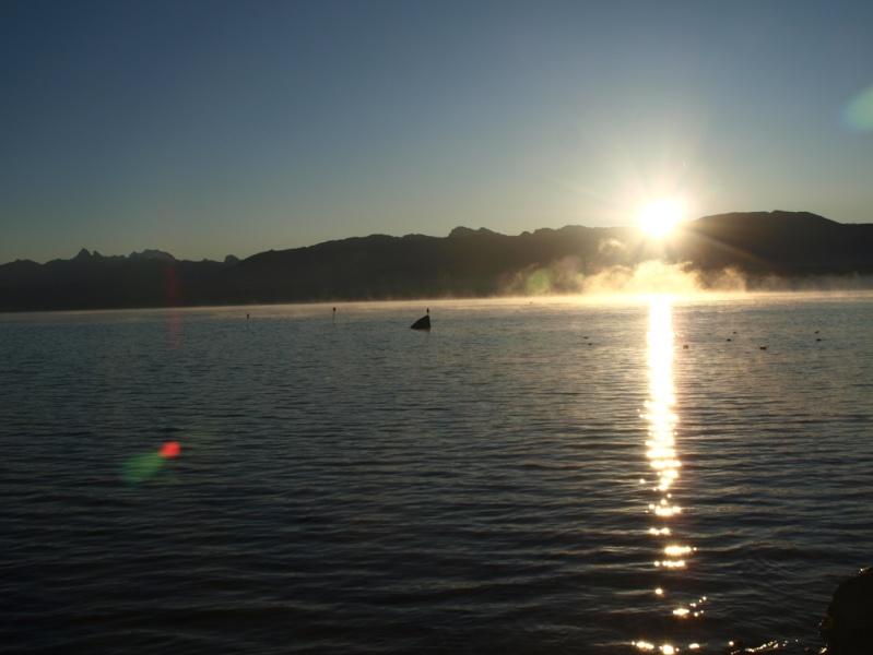 Brume sur le lac Pb253211