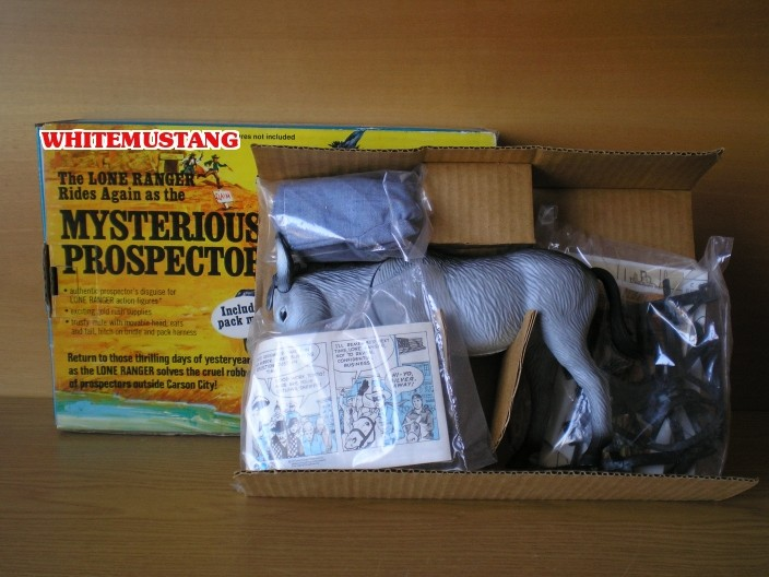 COLLEZIONE DI WHITEMUSTANG - LONE RANGER PLAYSETS BY MARX 0mqrqj11