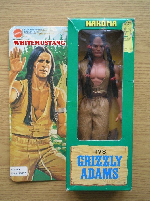 COLLEZIONE DI WHITEMUSTANG 6 - TV'S & KARL MAY BY MATTEL 3od2lj10
