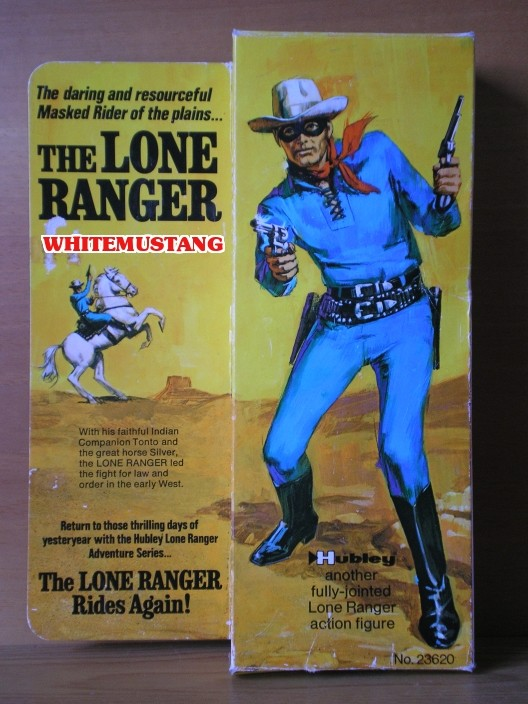 COLLEZIONE DI WHITEMUSTANG 5 - LONE RANGER ACTION FIGURES BY MARX 4gxiov12