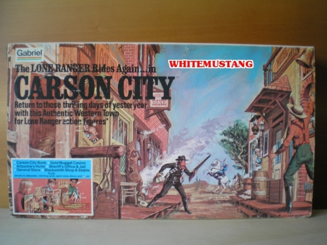 COLLEZIONE DI WHITEMUSTANG - LONE RANGER PLAYSETS BY MARX 9mckym10