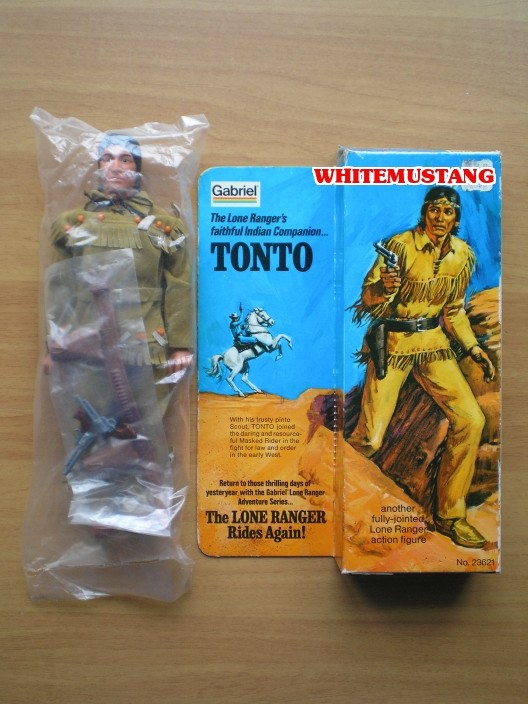 COLLEZIONE DI WHITEMUSTANG 5 - LONE RANGER ACTION FIGURES BY MARX D7yhgo10