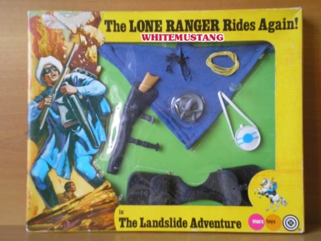 COLLEZIONE DI WHITEMUSTANG 2 - LONE RANGER WINDOW BOXED ADVENTURE SETS BY MARX Ejkalh10