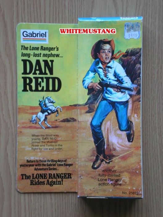 COLLEZIONE DI WHITEMUSTANG 5 - LONE RANGER ACTION FIGURES BY MARX Fe1sss10