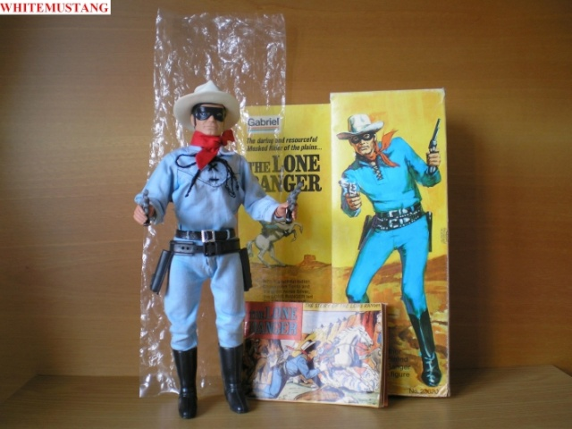 COLLEZIONE DI WHITEMUSTANG 5 - LONE RANGER ACTION FIGURES BY MARX Fglg3g11