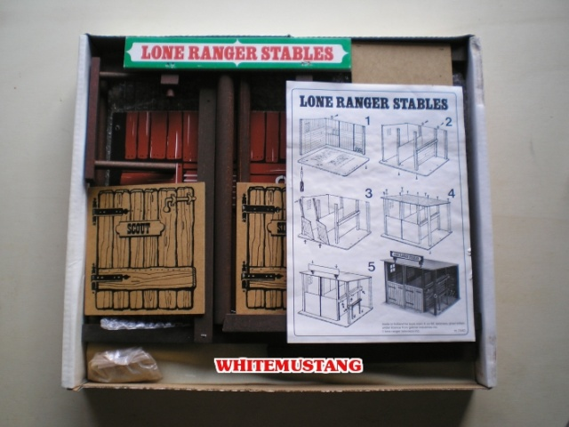 COLLEZIONE DI WHITEMUSTANG - LONE RANGER PLAYSETS BY MARX Hxqxew10
