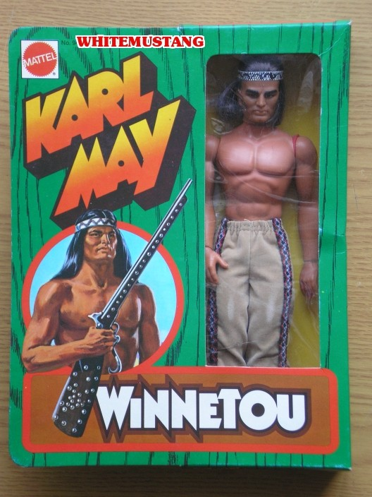 COLLEZIONE DI WHITEMUSTANG 6 - TV'S & KARL MAY BY MATTEL K7wgfj10