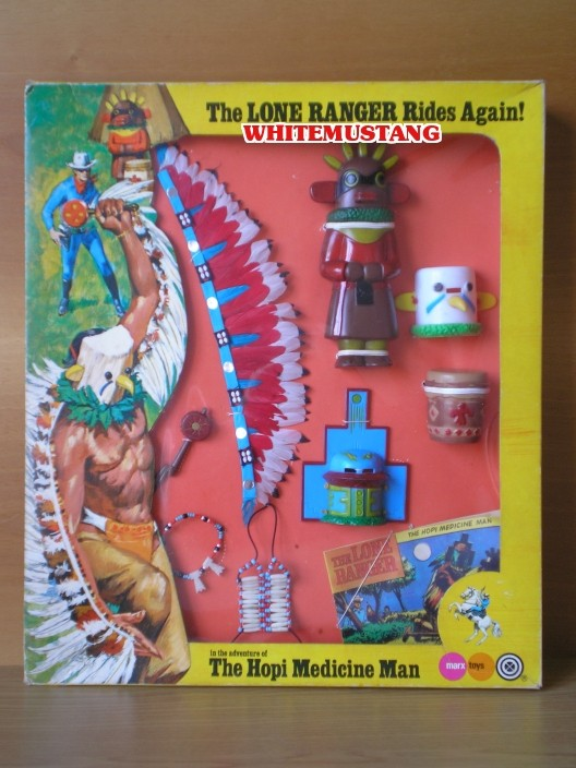 COLLEZIONE DI WHITEMUSTANG 2 - LONE RANGER WINDOW BOXED ADVENTURE SETS BY MARX Kw53ro10