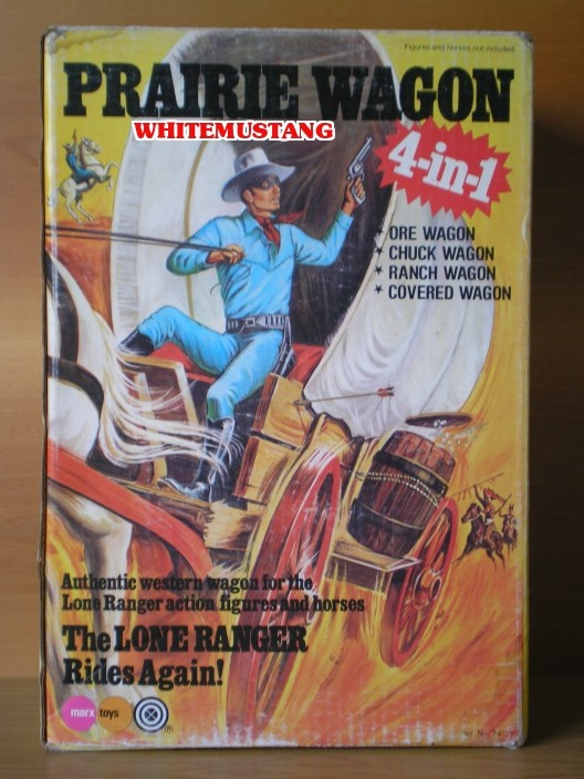 COLLEZIONE DI WHITEMUSTANG - LONE RANGER PLAYSETS BY MARX L52s6c11