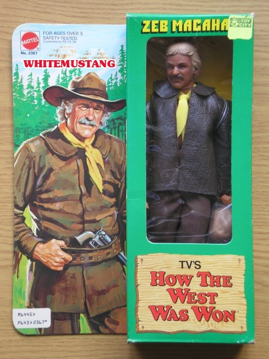 COLLEZIONE DI WHITEMUSTANG 6 - TV'S & KARL MAY BY MATTEL M0rliz12