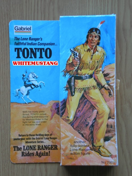 COLLEZIONE DI WHITEMUSTANG 5 - LONE RANGER ACTION FIGURES BY MARX Moids313