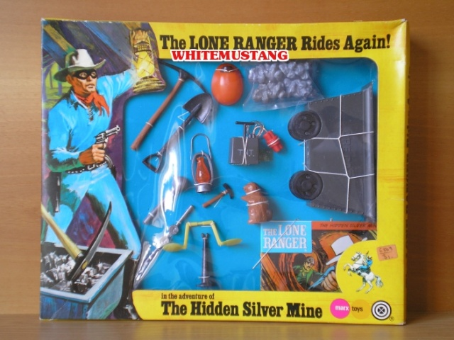 COLLEZIONE DI WHITEMUSTANG 2 - LONE RANGER WINDOW BOXED ADVENTURE SETS BY MARX Ogwvmv10