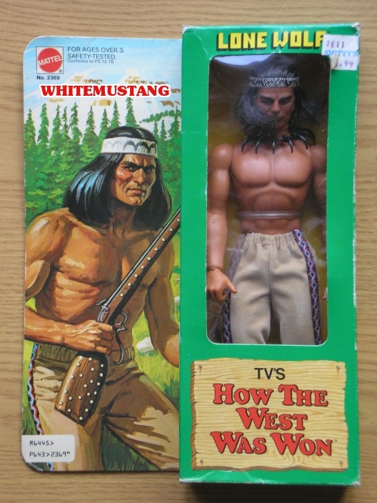 COLLEZIONE DI WHITEMUSTANG 6 - TV'S & KARL MAY BY MATTEL Qfoujy11