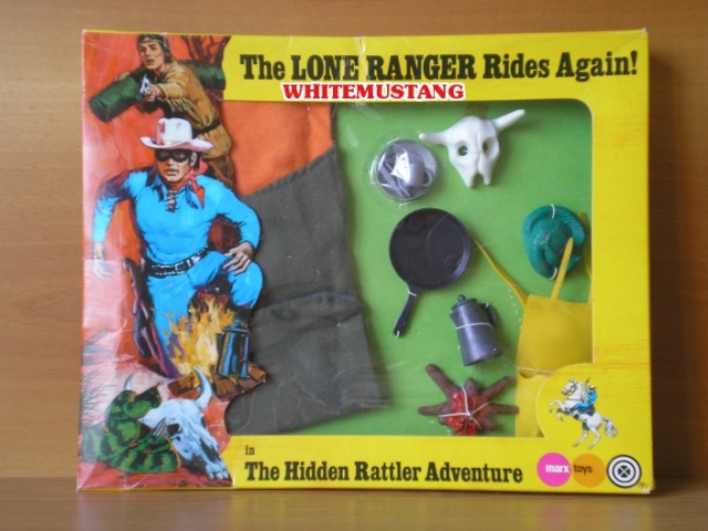 COLLEZIONE DI WHITEMUSTANG 2 - LONE RANGER WINDOW BOXED ADVENTURE SETS BY MARX Rpyiid10