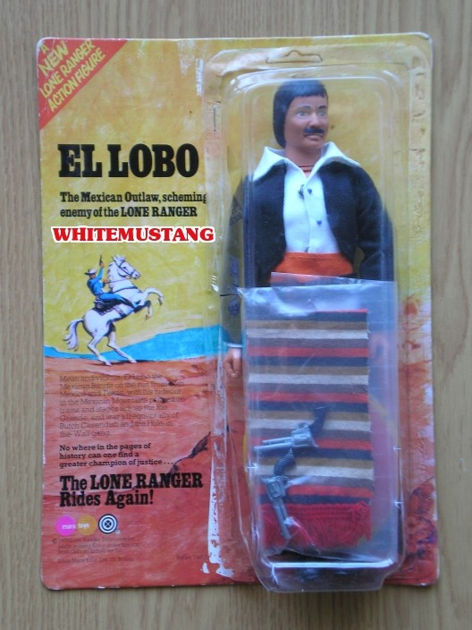 COLLEZIONE DI WHITEMUSTANG 5 - LONE RANGER ACTION FIGURES BY MARX Toyxdc10