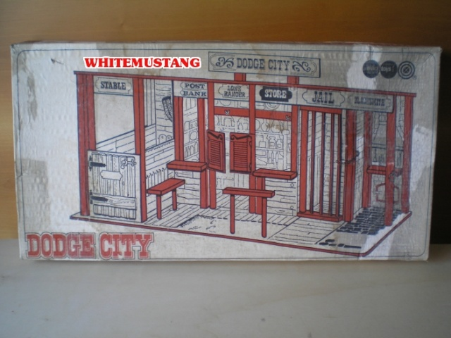 COLLEZIONE DI WHITEMUSTANG - LONE RANGER PLAYSETS BY MARX X5xo0u10