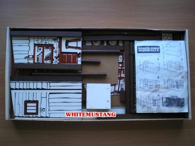 COLLEZIONE DI WHITEMUSTANG - LONE RANGER PLAYSETS BY MARX Zejxp210