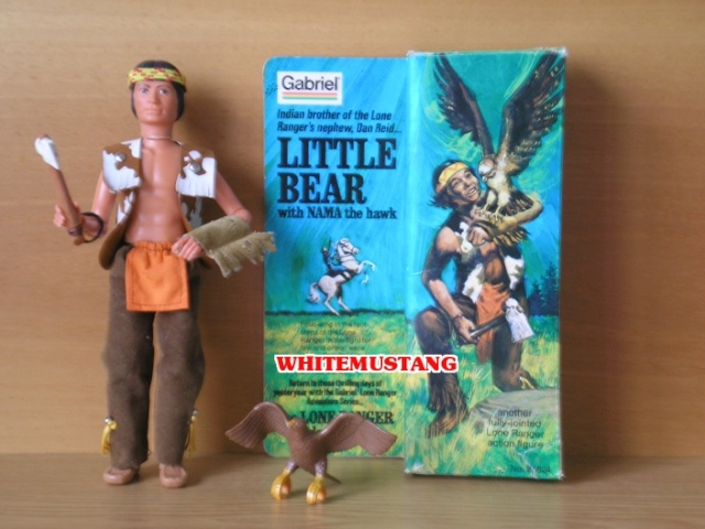 COLLEZIONE DI WHITEMUSTANG 5 - LONE RANGER ACTION FIGURES BY MARX Zjpvhh10