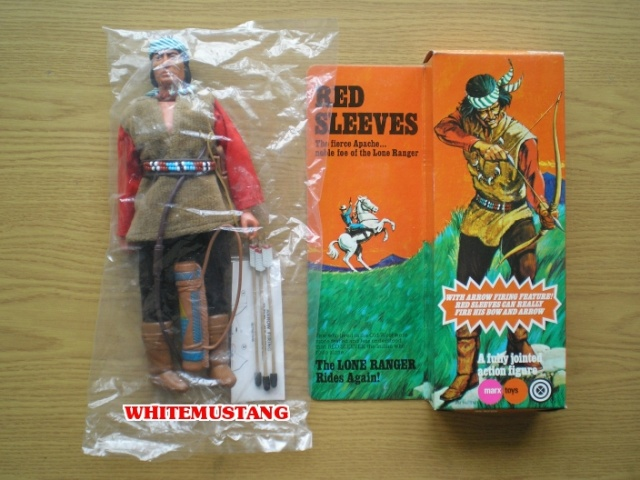 COLLEZIONE DI WHITEMUSTANG 5 - LONE RANGER ACTION FIGURES BY MARX Zmv4at10
