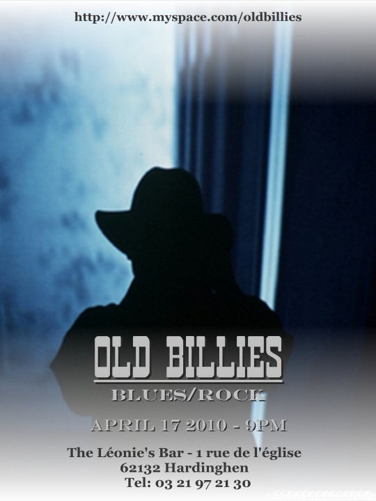 OLD BILLIES en Concert le 17 avril 2010... Affich14