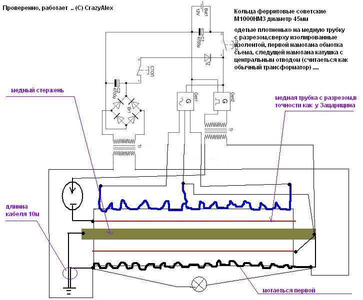 Раздел для самостоятельной сборки генератора.(схемы, чертежи, описания работы) Dndudd10