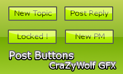 Green Post Buttons ! Entry11